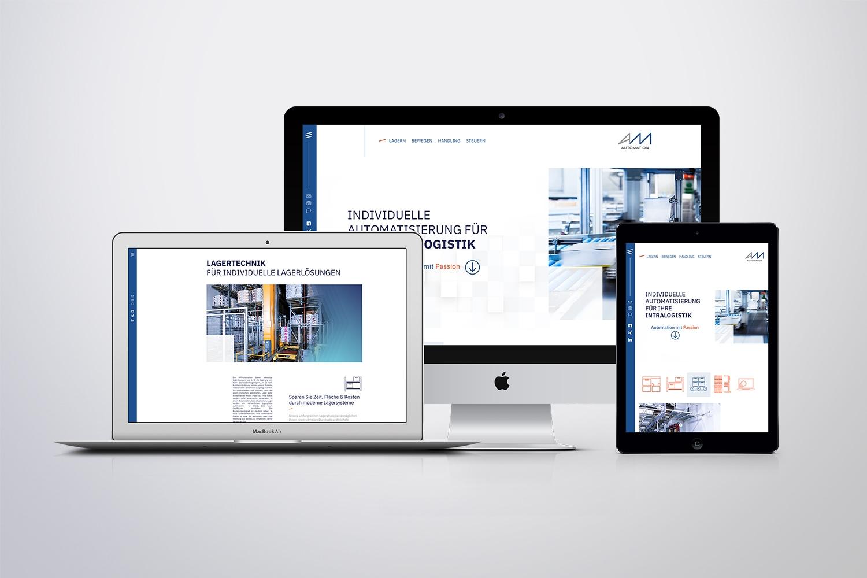 Neckarmedia Responsive Webdesign für AM Automation
