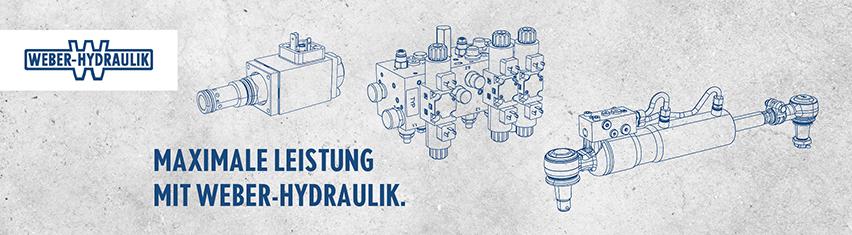Messedesign Weber Hydraulik Bauma 2019