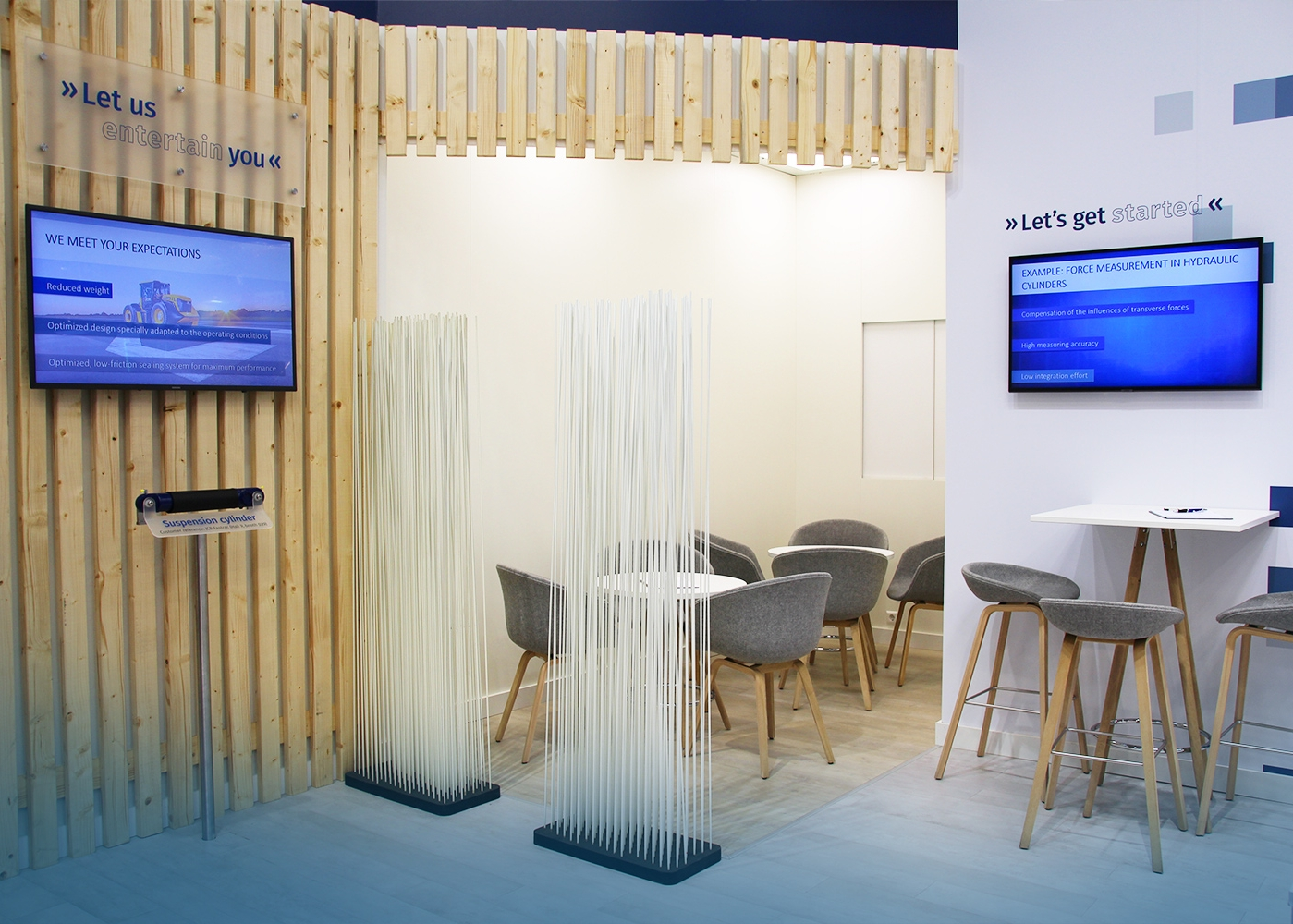 Messedesign Weber Hydraulik Agritechnica 2019
