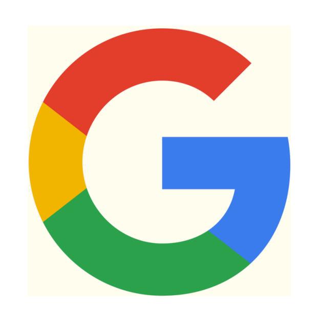 Illustration des Google-Buchstaben