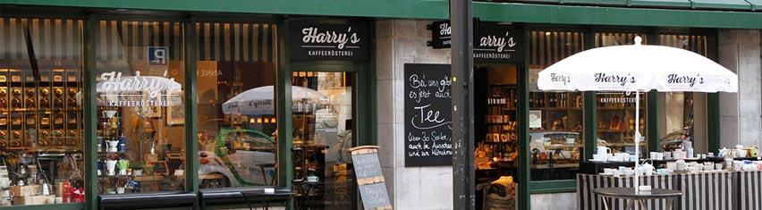 Ladengeschäft von Harry's in Stuttgart
