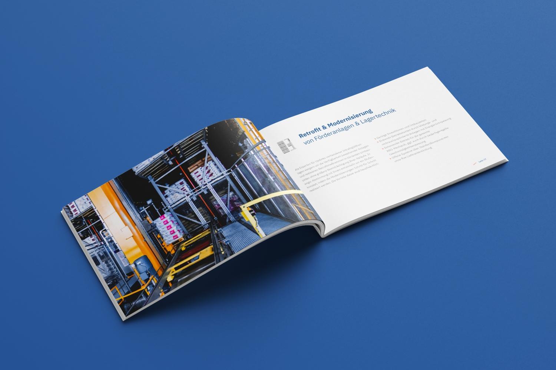 Neckarmedia Imagebroschüre für AM Automation