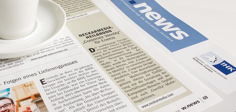 IHK News über Projekt Enerco Systems