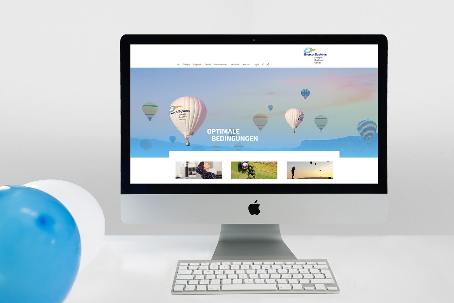 Relaunch Corporate Identity Enerco Systems