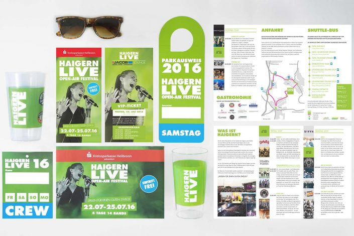 Haigern Live Corporate Design