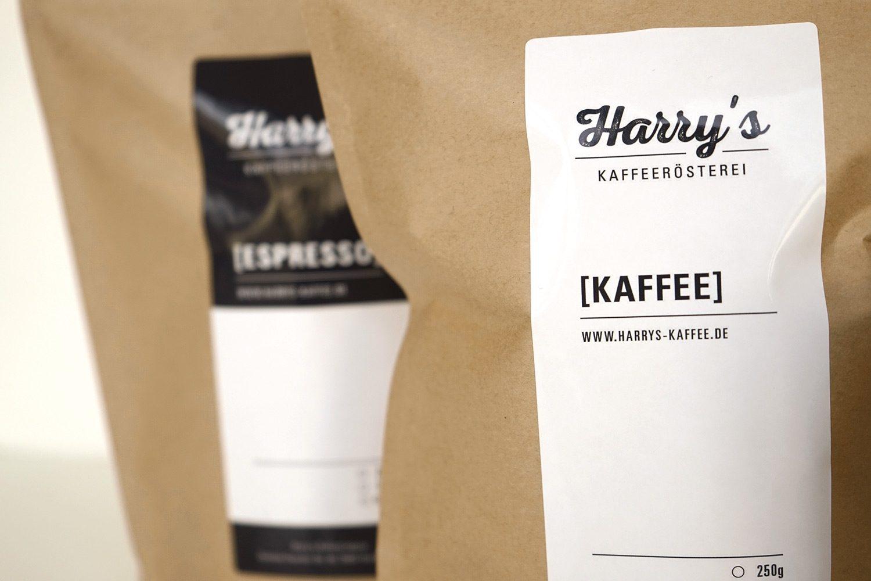 Harrys Kaffee Corporate Design
