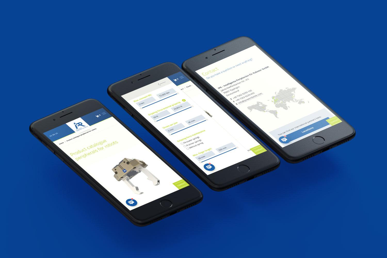 Neckarmedia Webdesign für IPR