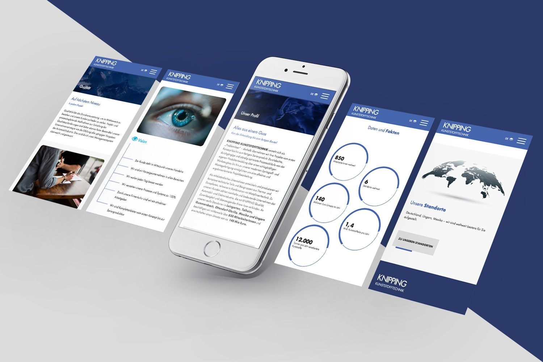 Neckarmedia Webdesign für Knipping Kunststofftechnik