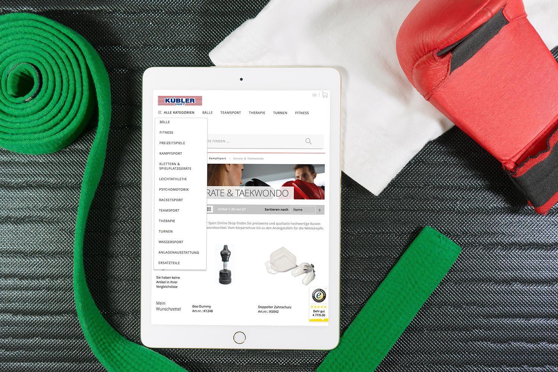 Kübler Sport Magento 2 Online Shop