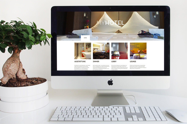 MY Hotel responsive Webseite
