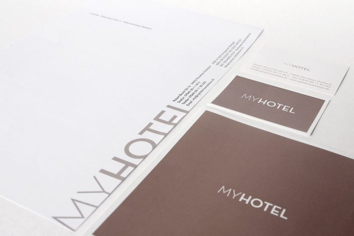 MY Hotel Corporate Design