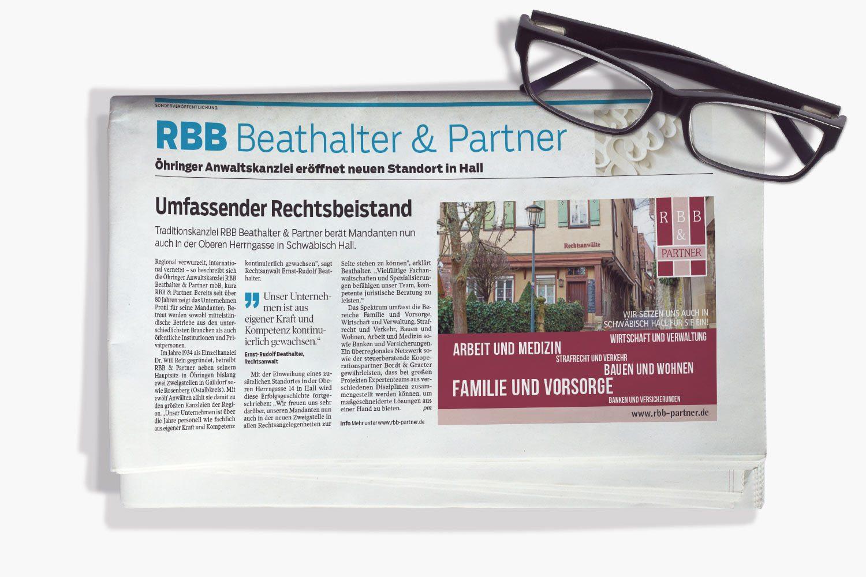 RBB Beathalter und Partner im Responsive Design
