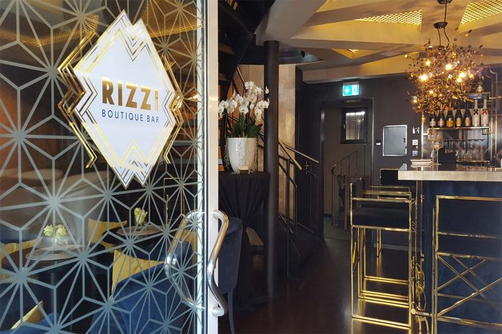 Corporate Design RIZZI Boutique Bar