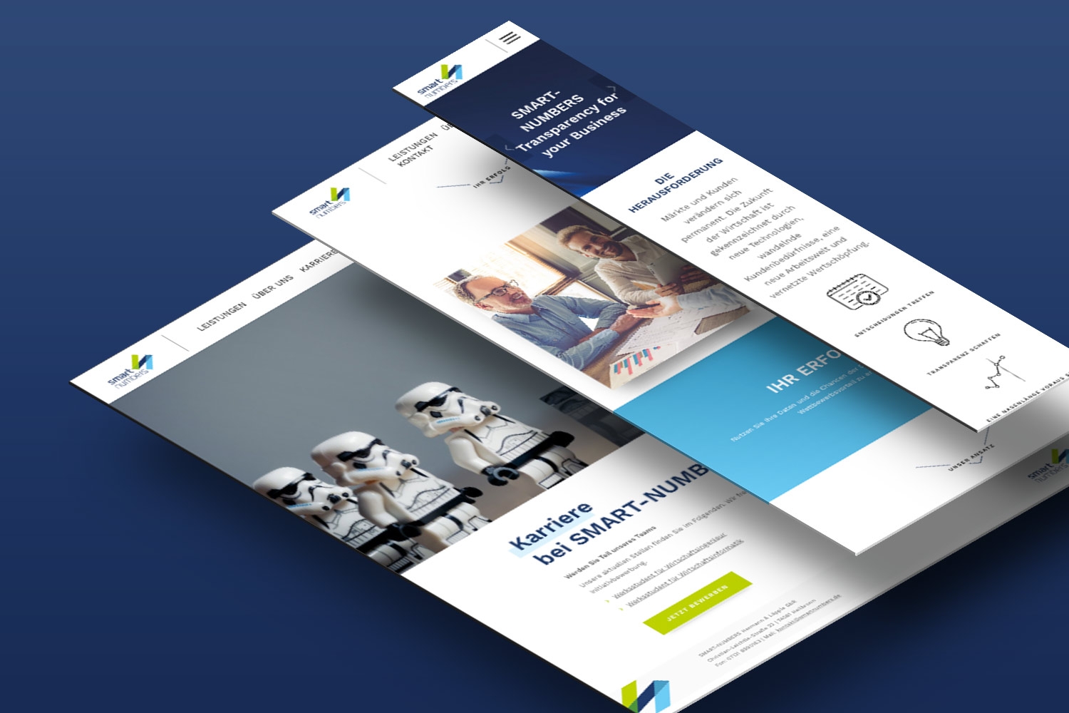 Neckarmedia Corporate Design Smart Numbers