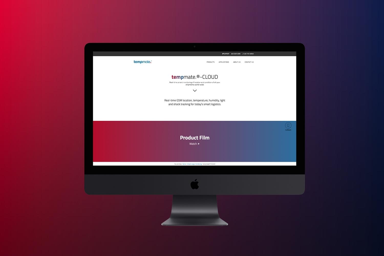 Neckarmedia Webdesign für Tempmate