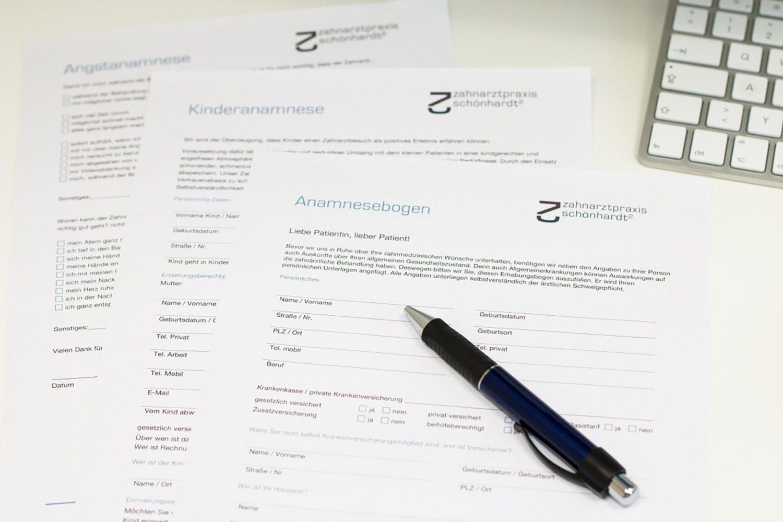 Zahnarztpraxis Schönhardt Corporate Design