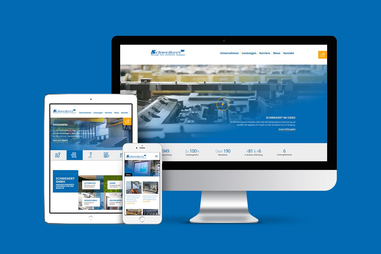 Neckarmedia Webdesign für Schweikert GmbH